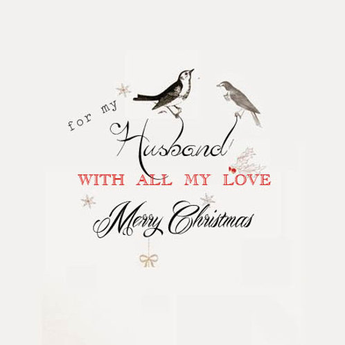 Christmas birds (husband)