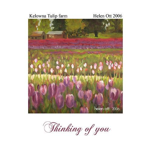 sympathy (thinking of you) - Kelowna tulips (Helen Ott)