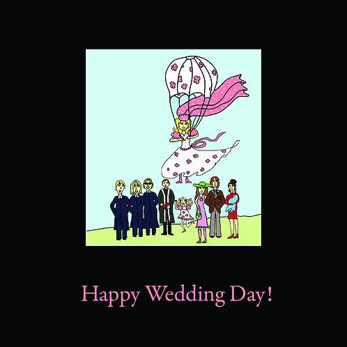 wedding - parachute party