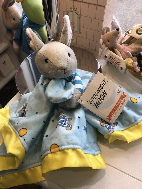 Goodnight Moon Blanket Bunny