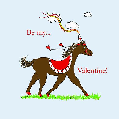 Valentines - horse