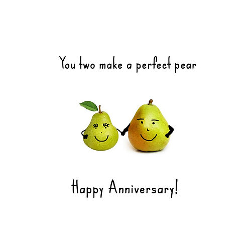 Anniversary - Perfect pear