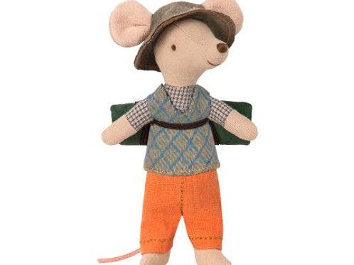 Big Brother Hiker mouse with sleeping bag (no box)
