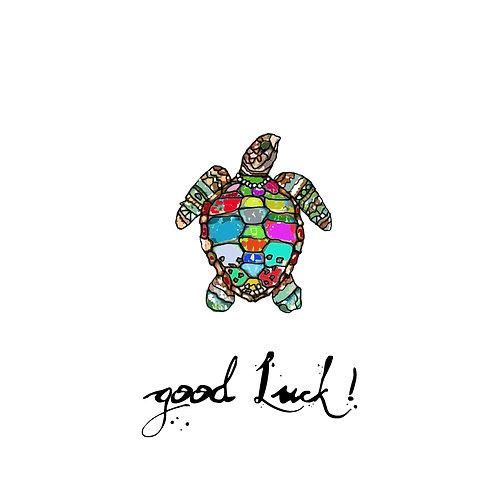 Good luck - turtle