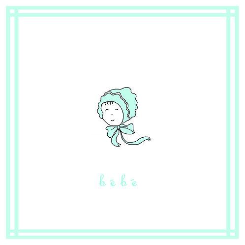 baby boy - bonnet