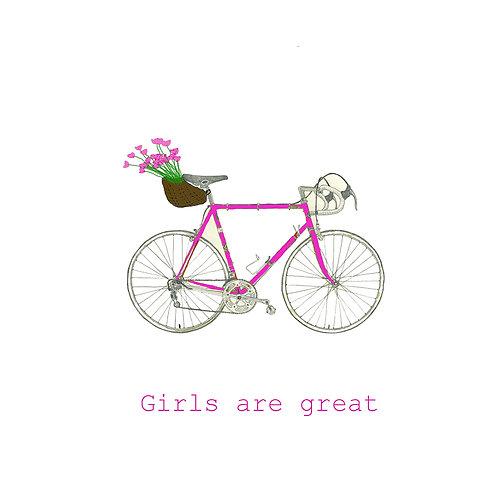 girls are great - bike