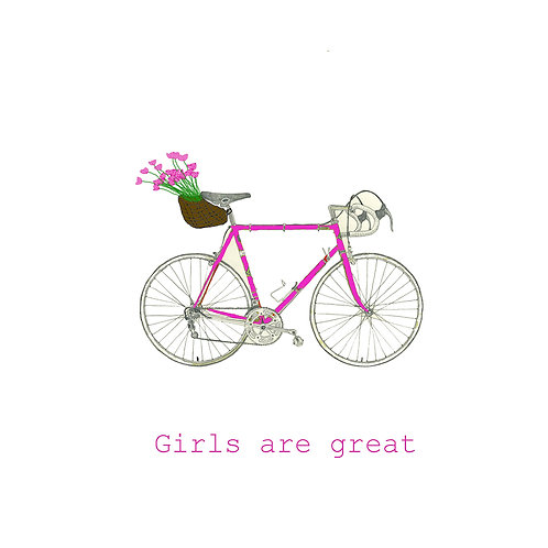 cycling - girls are great