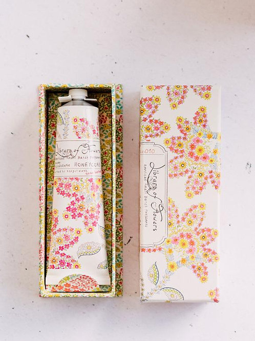 Library of flowers - Honeycomb Hand creme
