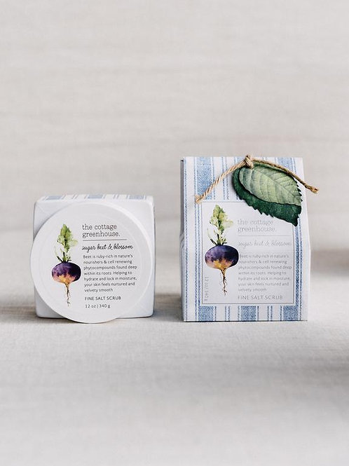 Cottage Greenhouse - Sugar Beet & Blossom Salt Scrub