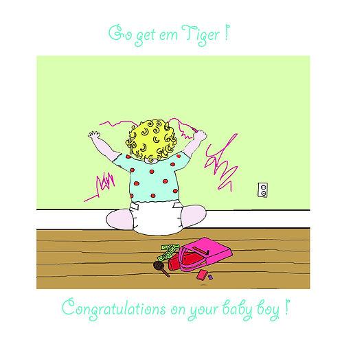 baby boy - tiger