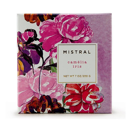 Mistral Exquisite florals Camelia Iris gift soap