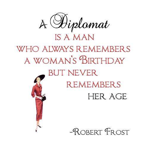 Robert Frost - A Diplomat