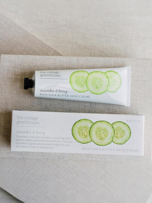Cottage Greenhouse - Cucumber & Honey hand creme