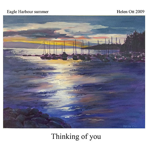sympathy (thinking of you) - Eagle Harbour (Helen Ott)