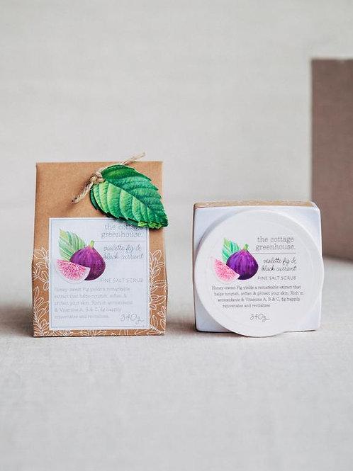 Cottage Greenhouse - Violette Fig & Black Currant Salt Scrub