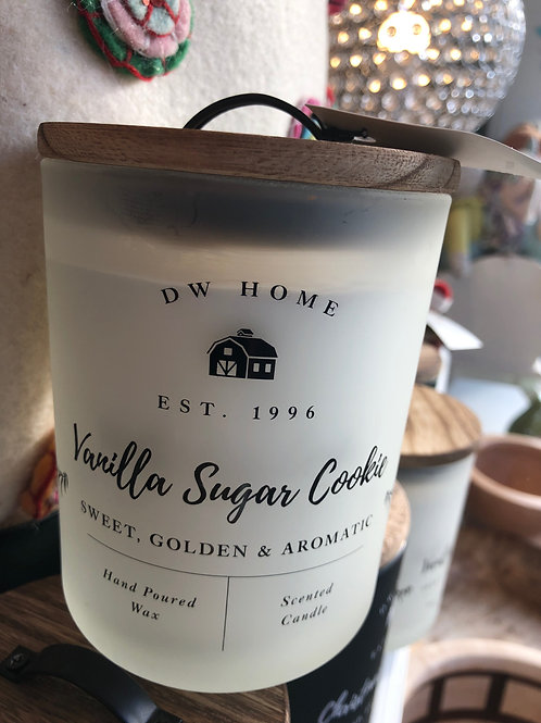 DW Home Farmhouse - Vanilla Sugar Cookie candle