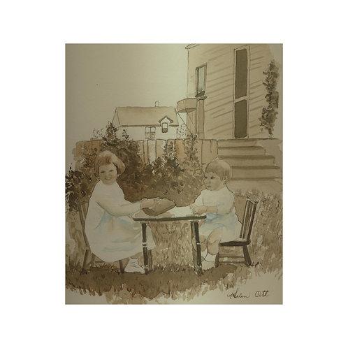 Lashburn tea party - Helen Ott