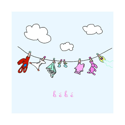 baby - clothesline