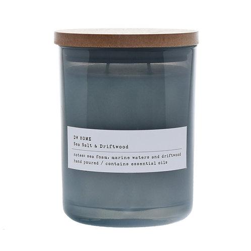 Sea salt & Driftwood candle (Typewriter series)