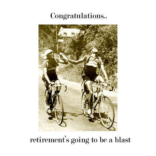 retirement - wine break on the Col de Tourmalet