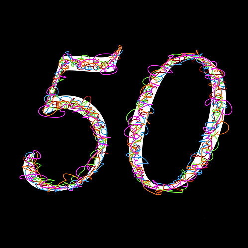 50th curly cues