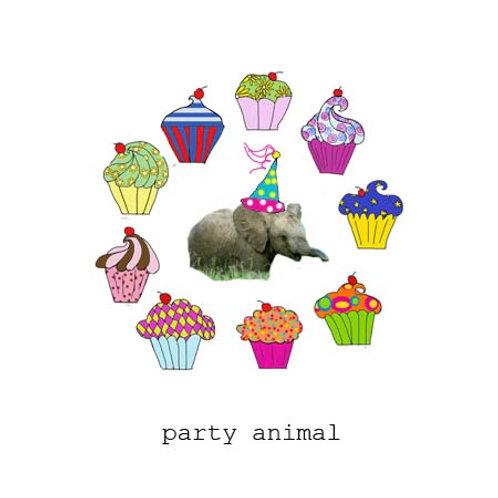 party animal elephant