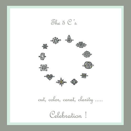 wedding - The five Cs