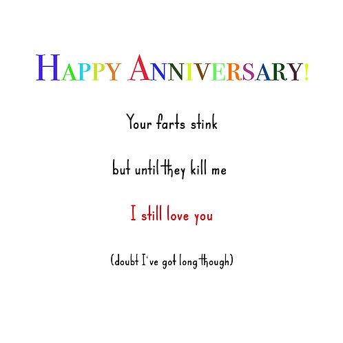 Anniversary - farts