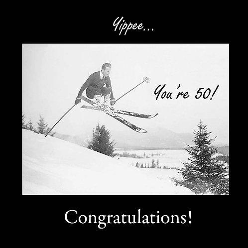 50th ski yippee