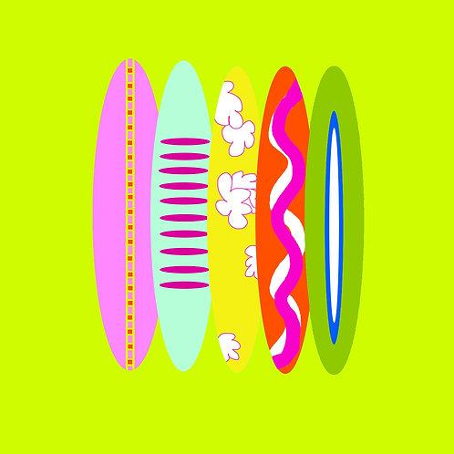 surf - lime