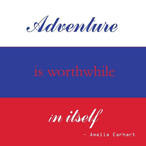 Amelia Earhart - adventure