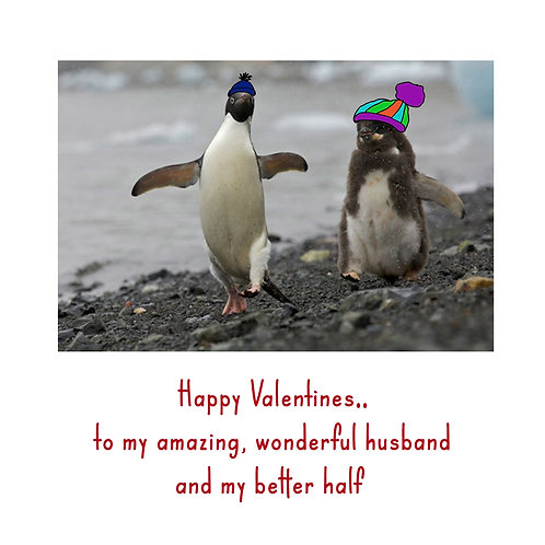 Valentine - Penguin better half (husband)