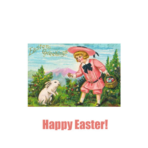 Easter - pink girl