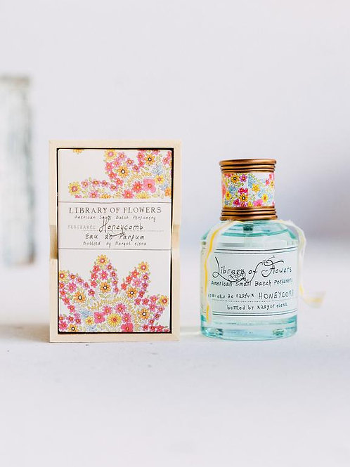 Library of flowers - Honeycomb Eau de Parfum