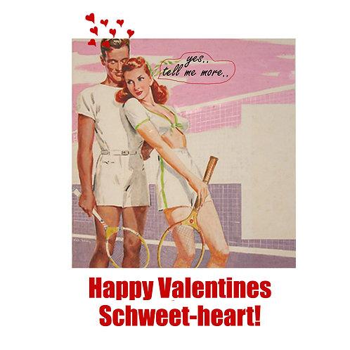 Valentines - Schweetheart tennis