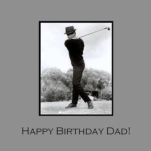 Dad - golf