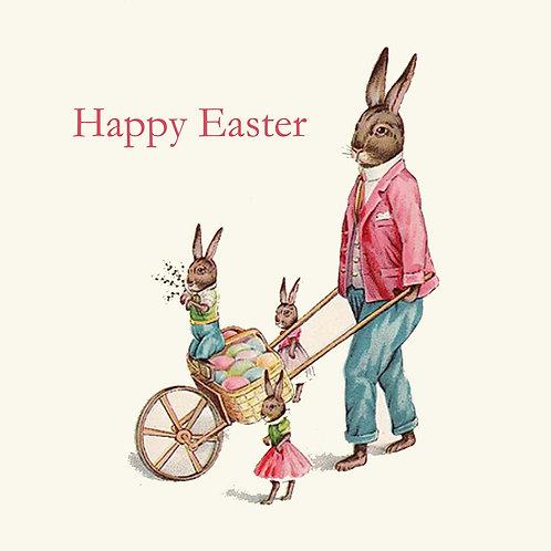 Easter - dad & kid bunnies