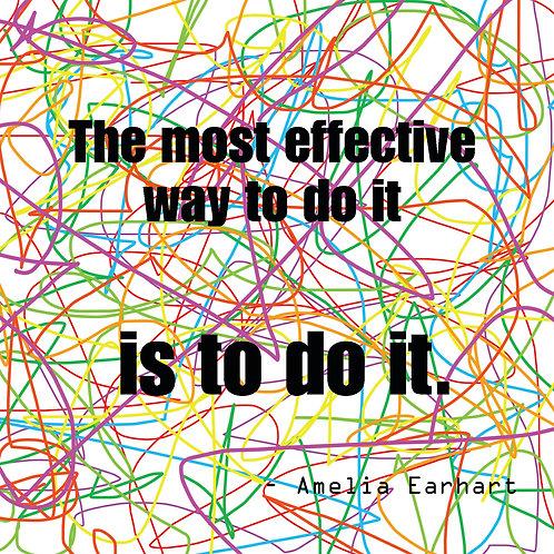 Amelia Earhart - do it