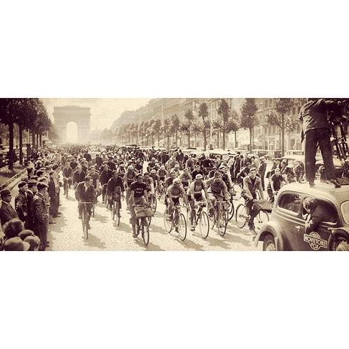 cycling - Champs Elysees vintage Tour