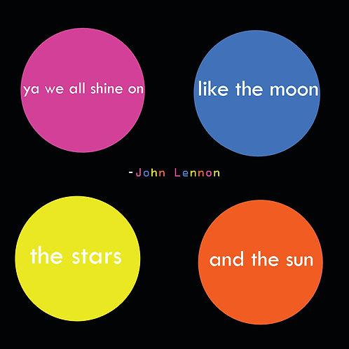 John Lennon - ya we all shine on