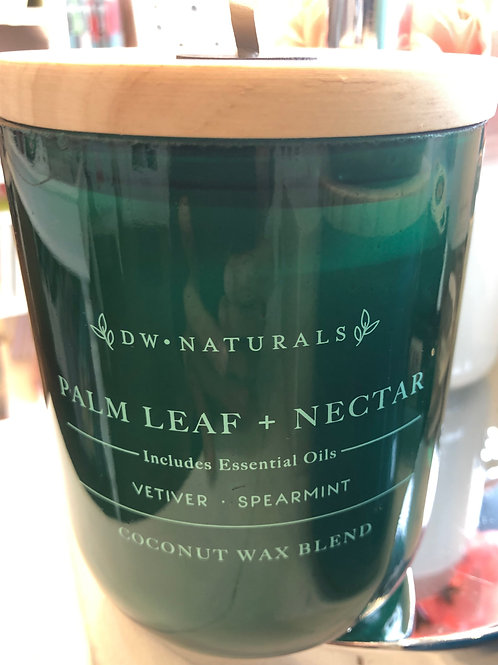 DW Home Palm leaf and nectar coconut wax candle
