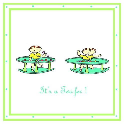 twins - it's two-fer