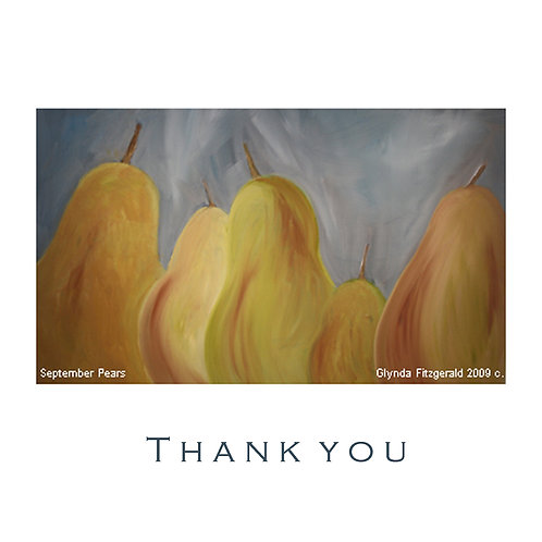 September pears - Glynda FitzGerald