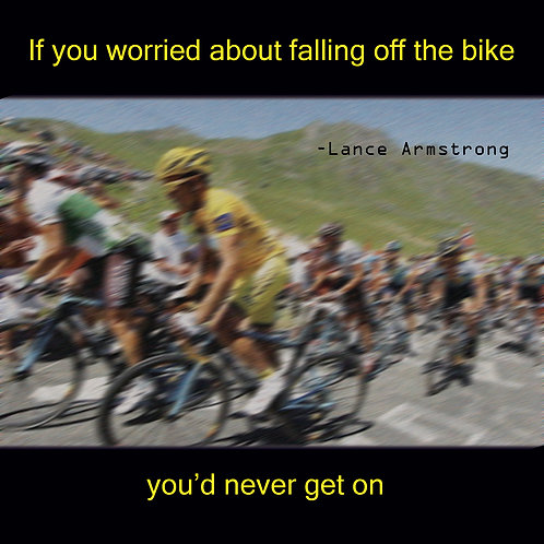Lance - worried about falling off