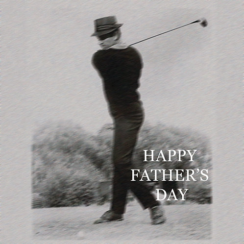 Father's day - retro golf