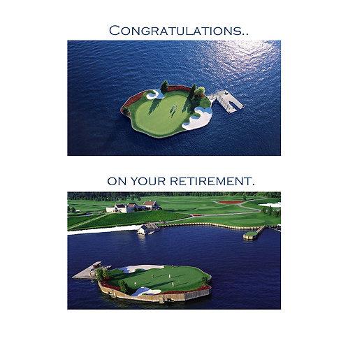 retirement - fantasy island golf