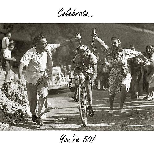50th Tour de France and wine