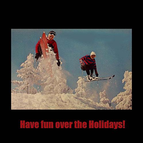 Retro Ski jump guys