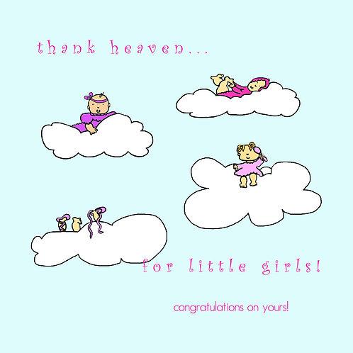 baby girl - thank heaven