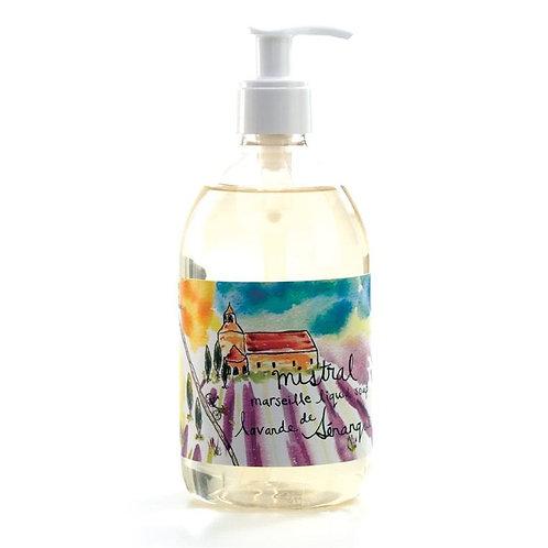 Senanque lavender Sur la route liquid soap